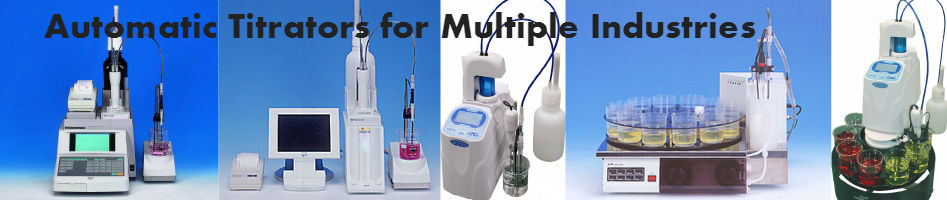 multiple automatic titrators